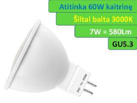 Led lemputė G9 - 5w - 400lm - 2.95€