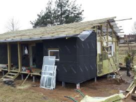 Karkasiniu namuku statyba,apdaila,renovavimas
