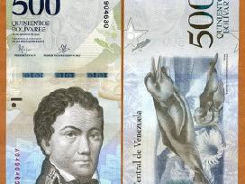 Venesuela 500 Bolivares 2016(2017)m. P-new Unc