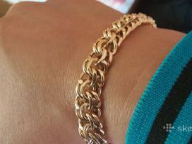 Bismarko pynimo grandinėlės, rusų aukso, 585p