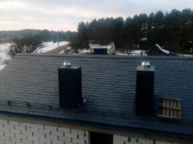 Profesionalus stogų dengimas, fasadų šiltinimas