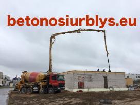 Betono siurblio paslaugos, betono siurblys