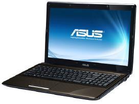 Nešiojamą kompiuterį Asus K52n dalimis