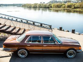 Mercedes-benz S klasė w116 1973m Retro nuoma