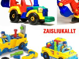 Surenkamas traktorius - ekskavatorius Ir Mašina
