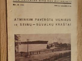 """Žurn.- """"Mūsų Vilnius"""" - 1934m. - Nr.8."""