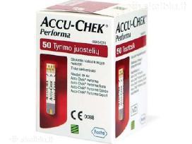 Accu-chek Performa juostelės