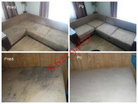 Giluminis cheminis minkštų baldų valymas (Nuotr. - nuotraukos Nr. 9