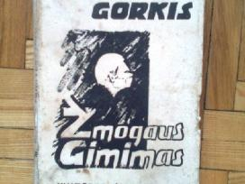 """M. Gorkis """"Zmogaus gimimas"""" 1938 metai"""