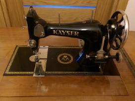 Puikiai išlaikyta Kayser senovine siuvimo mašina