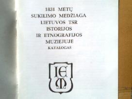 1831 m. sukilimo medziagos katalogas