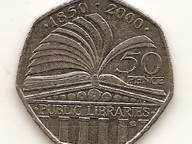 Anglijos progines monetos