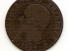 Prancuzija 5 centimes 1856 #777