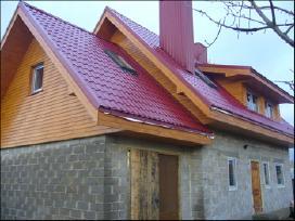 Stogo dengimas, stogo renovacija, kaminu valymas.