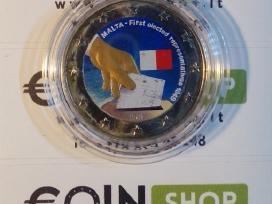 Malta spalvotos euro monetos