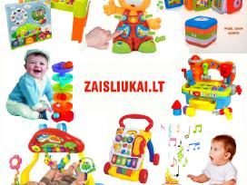 9 krapštimo žaidimai mažyliams nuo 6 mėnesių