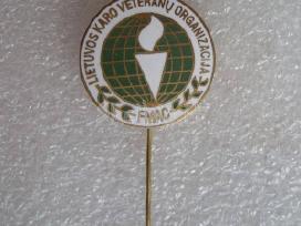 Ženkliukas.llietuvos karo veteranu organizacija.