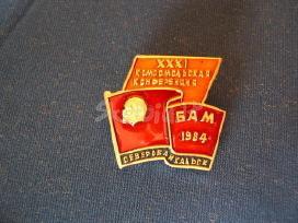 """CCCP zenkliukas."""" bam 1984 """". .zr."""