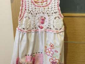 Gelėta vasarinė suknelė