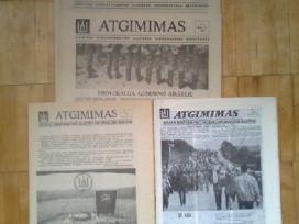 Laikrascio <Atgimimas> pirmuju 2 metu komplektai