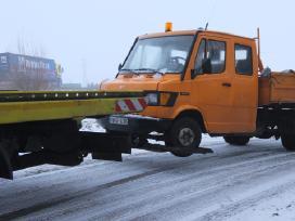 Tralas Platforma, Krovinių - Traktorių vežimas 17t - nuotraukos Nr. 10