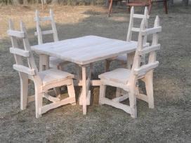 Gaminame lauko ir vidaus baldus,masyvas ir ne