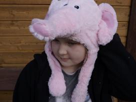 Smagi šilta kepurė su judančiom ausytėm