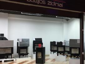 Naujas Hitze židinių salonas Vilniuje Židiniai