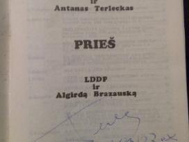Knyga: A. Terleckas, Lll ir A. Terleckas prieš.