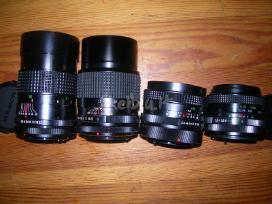 Canon fd objektyvai