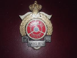 Kolekcinis automobilių klubo ženklas