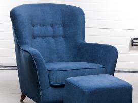 Retro skandinaviško dizaino fotelis Modena