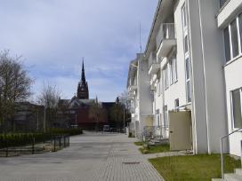 Palangoje centre butai J. Biliūno g. ir Janonio g.