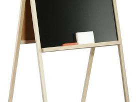 Dvipusė medinė piešimo lenta - 8,7€