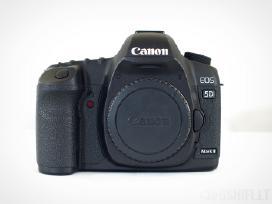 Canon EOS 5D Mark II 21mp Pilno Kadro Fotoaparatas