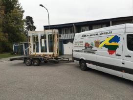 Express siuntų gabenimas Švedija Lietuva Švedija