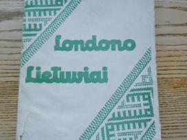 Londono lietuviai - Kun. K. A. Matulaitis - 1939m.