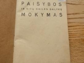 Paišybos ir kitų dailės dalykų mokymas - 1934m.