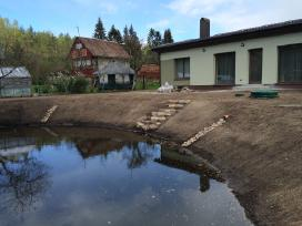 Aplinkos tvarkymas, drenažas, lietaus nutekejimas - nuotraukos Nr. 2