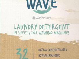 Naujiena ekologiški skalbimo lapeliai Wave