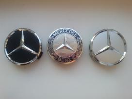 Mercedes Benz ratlankiu dangteliai 75mm 4vnt-10€