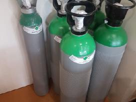 Dujų balionas deguoniui 10l (pilnas)
