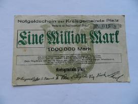 1923 m. vienas milijonas markiu,retas