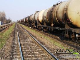 Traukinio cisterna, cisternos (naudotos)