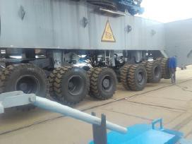 Mobilus industriniu krautuvų padangų montavimas