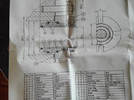 Depac mechanino sandariklio rem. komplektas - nuotraukos Nr. 5