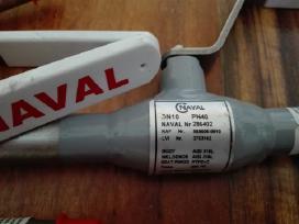 Nauji Naval nerudijan. plieno rutuliniai ventiliai