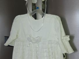 Puošni lininė suknelė mergaitei