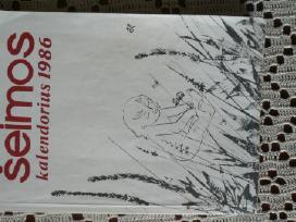 Šeimos kalendorius 1986 m.