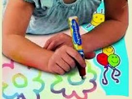 Kūrybiniai rinkiniai vaikams - piešimas vandeniu